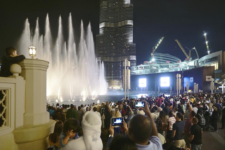 Dubai 2015, Downtown Dubai
